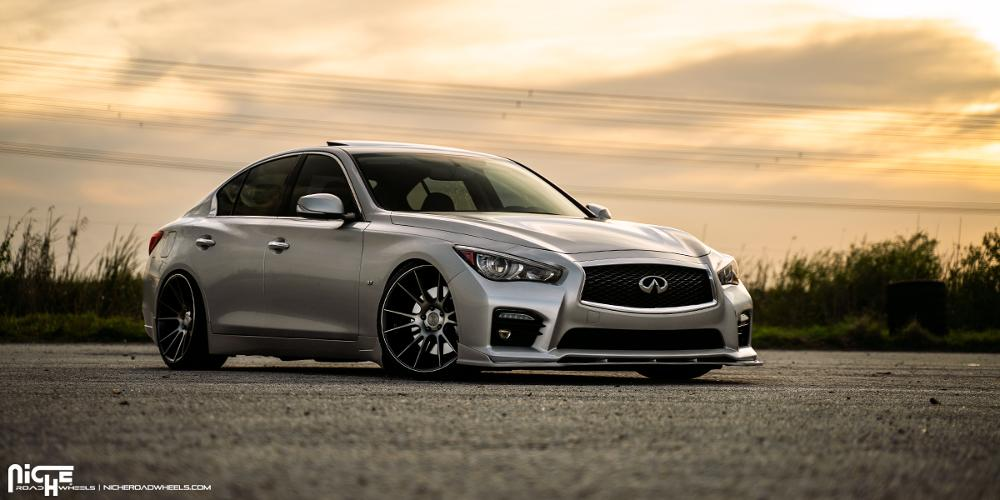 Infiniti Q50 with Niche Sport Series Vicenza - M153