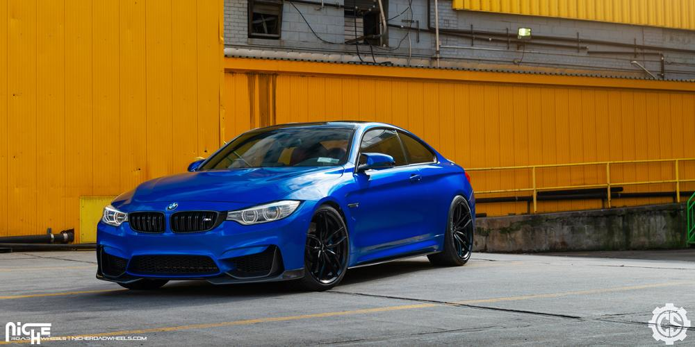 BMW M4 with Niche Sport Series Vosso - M203