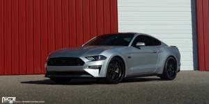 Ford Mustang with Niche Sport Series Vice - M226