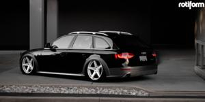 Audi allroad with Rotiform WGR