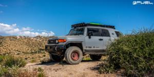 Toyota FJ Cruiser with Fuel 1-Piece Wheels Zephyr - D632