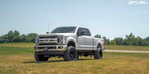 Ford F-250 Super Duty with Fuel 1-Piece Wheels Zephyr - D633 [Truck]