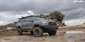 Toyota Tacoma with Fuel 1-Piece Wheels Zephyr Beadlock - D101
