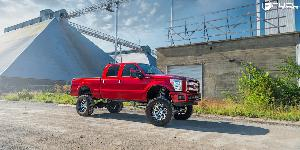 Ford F-250 Super Duty with Fuel 2-Piece Wheels Assault - D246