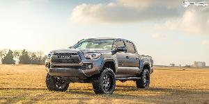 Toyota Tacoma with Fuel 1-Piece Wheels Baja - D628