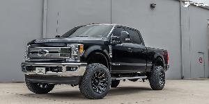 Ford F-250 Super Duty with Fuel 1-Piece Wheels Diesel - D598