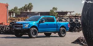 Ford F-150 Raptor with Fuel 1-Piece Wheels Podium - D618