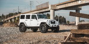 Jeep Wrangler with Fuel 1-Piece Wheels Podium - D619
