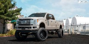 Ford F-250 Super Duty with Fuel 1-Piece Wheels Sledge - D596