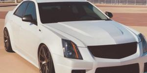 Cadillac CTS with Verde Wheels V99 Axis