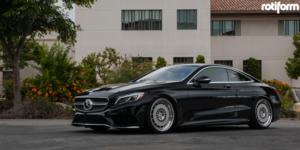 Mercedes-Benz S550 with Rotiform CCV