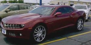 Chevrolet Camaro with VCT Bossini