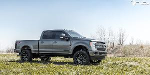 Ford F-250 Super Duty with Fuel 1-Piece Wheels Contra - D615