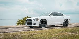 Dodge Charger with Azara AZA-501