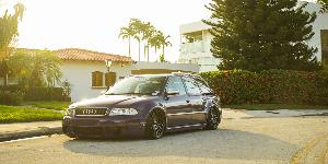 Audi RS4 with Rotiform LAS-R