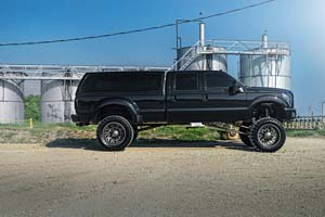 2014 Ford F-350 Super Duty Dual Rear Wheel with American Force Super Dually Series 6D07 Camber SD
