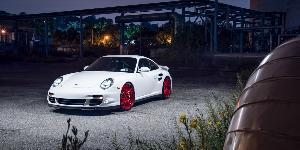 Porsche 911 with Rotiform DVO