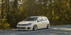 Volkswagen GTI with Rotiform LHR