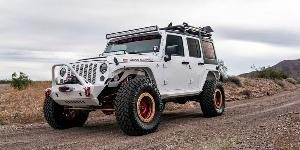 Jeep Wrangler with SOTA Offroad S.S.D.