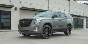 Cadillac Escalade with Rotiform CVT