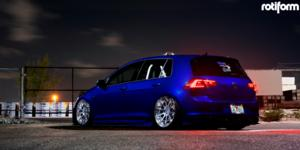 Volkswagen GTI with Rotiform CVT