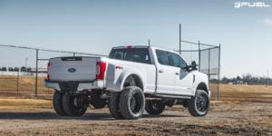 Ford F-350 Super Duty with Fuel Dually Wheels FF19D - Rear