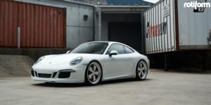 Porsche 991 Carrera S with Rotiform FUC