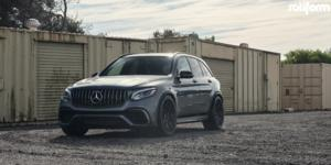 Mercedes-Benz GLC63 AMG with Rotiform JDR