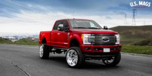 Ford F-250 Super Duty with US Mags Kompressor 6 - Forged HD