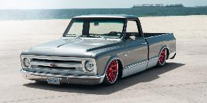 Chevrolet C10 Pickup with US Mags M-One - U424