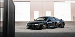 Audi R8 with Rotiform NEK