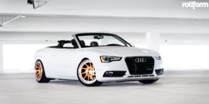 Audi A5 with Rotiform OZT