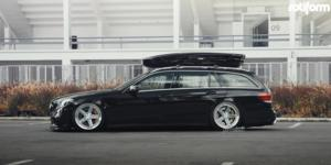 Mercedes-Benz E63 AMG with Rotiform PNT