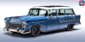 Chevrolet 210 Wagon with US Mags PT.5 - U705