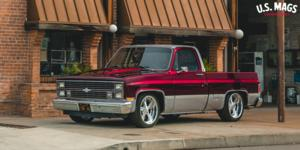 Chevrolet Silverado with US Mags Rascal - U391