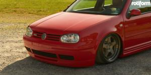 Volkswagen GTI with Rotiform ROC