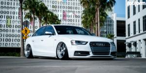 Audi S4 with Rotiform ROC