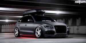 Audi with Rotiform ROC