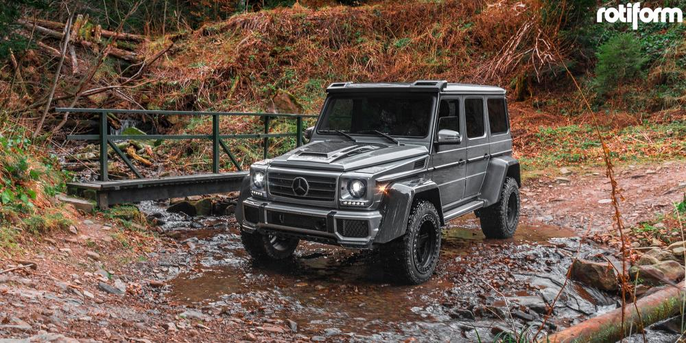 Mercedes-Benz G500 with Rotiform PNT