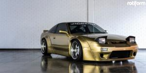 Nissan 240SX with Rotiform SIX
