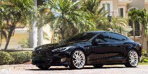 Tesla Model S with Niche Forged Surge