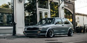 Volkswagen Golf with Rotiform TMB