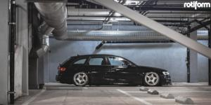 Audi A4 with Rotiform WRO