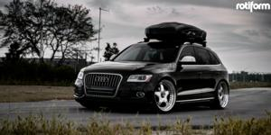 Audi Q5 with Rotiform WRO