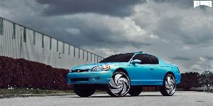 Chevrolet Monte Carlo with DUB Spinners S810 - Turbo