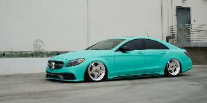 Mercedes-Benz CLS63 AMG with Rotiform WRO