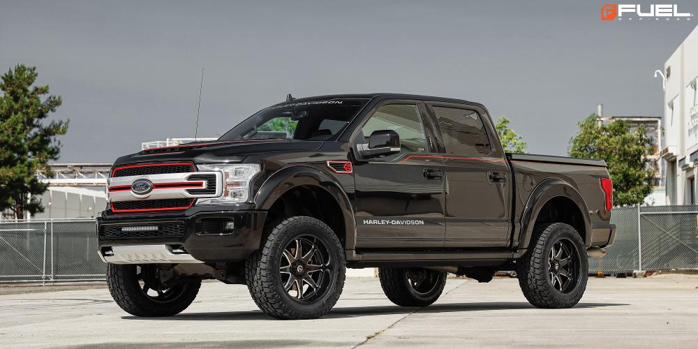 Ford F-150 with Fuel 1-Piece Wheels Hammer - D749