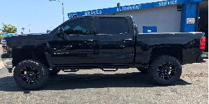 Chevrolet Silverado 1500 with Fuel 1-Piece Wheels Vapor - D569