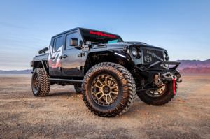 Jeep Gladiator with MKW Offroad M205