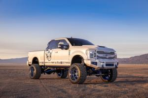 Ford F-350 Super Duty with Hostile HF04 PUNISHER